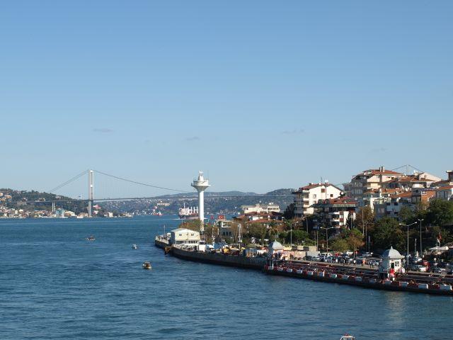 Blick auf die 1. Brücke