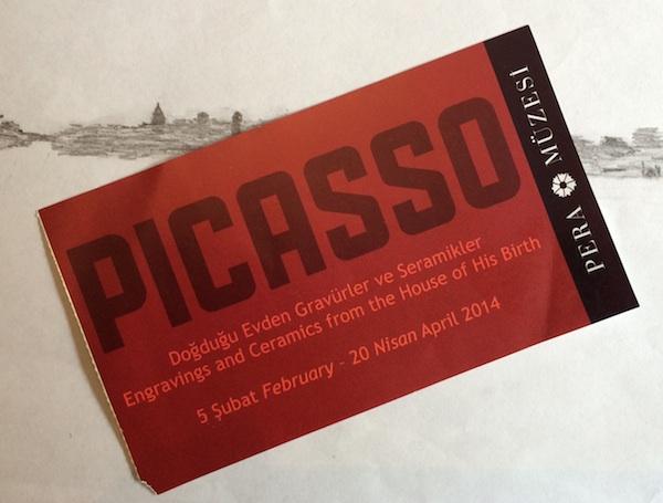 Picasso-Ausstellung Pera-Museum Istanbul