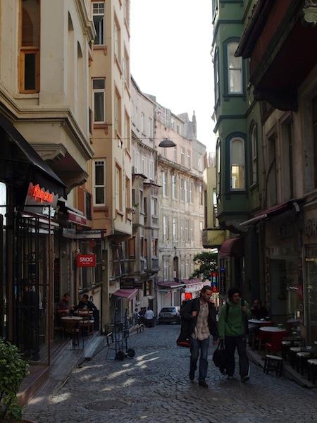 Straße im Galata-Viertel
