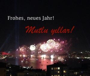 Neujahrsgrüße, mutlu yillar