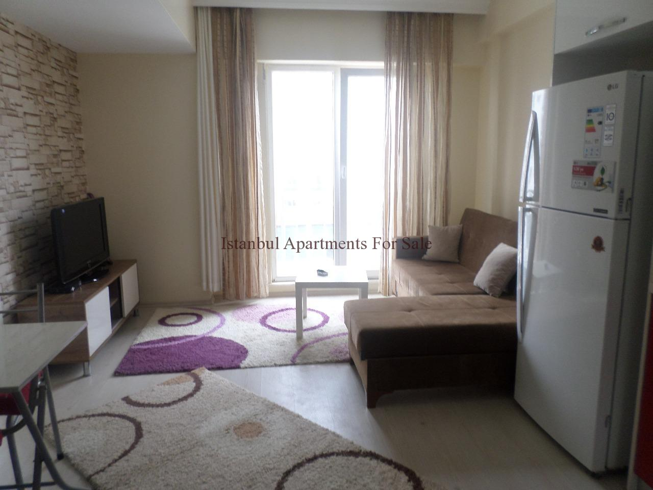 Cheap Furnished One Bedroom Property to Buy Istanbul