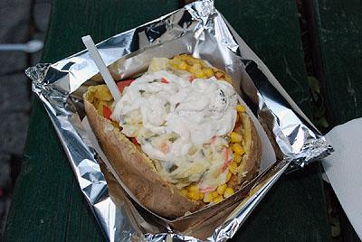 The baked potato on steroids -- photo by Jason D. Jones