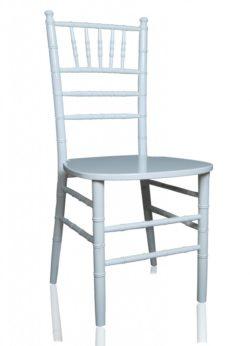 Beyaz Plastik Tiffany Sandalye - 9TL