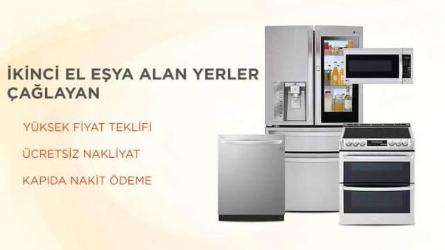 2.el buzdolabı, fırın, bulaşık ve çamaşır makinesi, ankastre fırın gibi her türlü beyaz eşyayı; Çağlayan ikinci el beyaz eşya alanlar hzmetiyle maksimum kazançla satın!