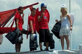 Redbull flugtag event, Caddebostan 2010, İstanbul