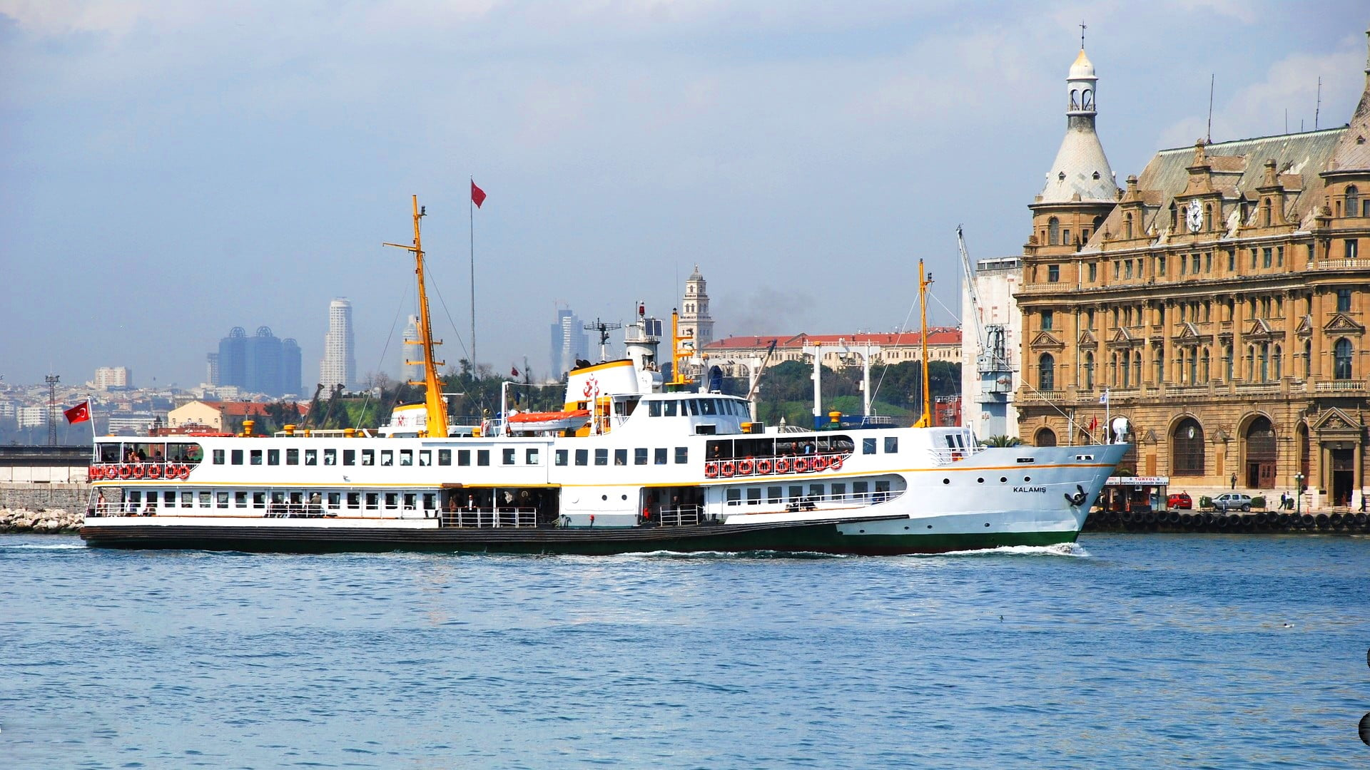 How to use Istanbul's ferries