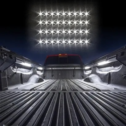 truck bed tool box light kit with auto off delay switch 4pc 12inch tubes 36 led