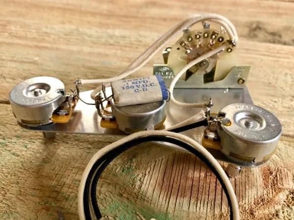 Style Input Jack Wiring Fender Fender Eric Johnson Stratocaster Wiring Harness 1469music