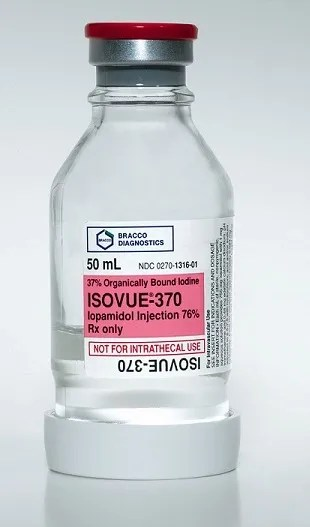 Isovue-370 Contrast Media Iopamidol 76% Intravenous ...