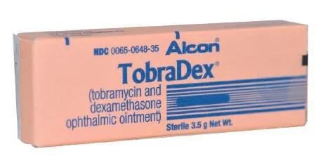 TobraDex Antibacterial / Steroid Combination Tobramycin ...