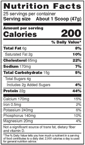 Syntha 6 Nutrition Facts : syntha, nutrition, facts, Syntha-6, Protein, ColdStone, Serving