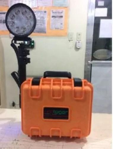 proteger psl 24w remote area lighting system orange