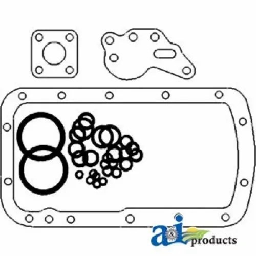 Hydraulic Lift Cover Repair Kit for 1953 1954 Ford NAA