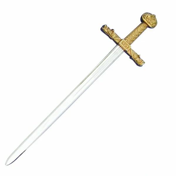 DENIX Medieval Gold Trim Charlemagne Letter Opener With