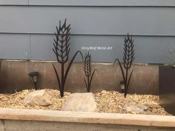 set of 3 wheat