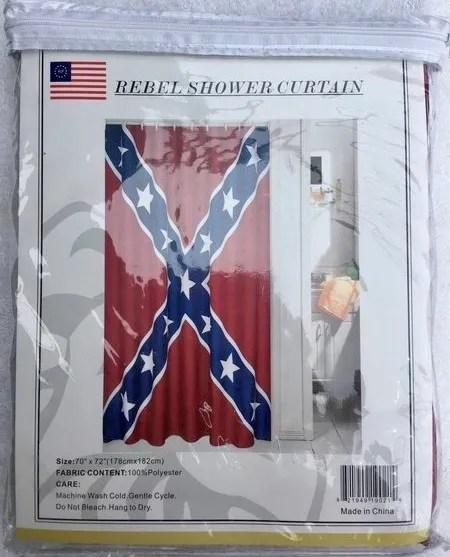 rebel shower curtain
