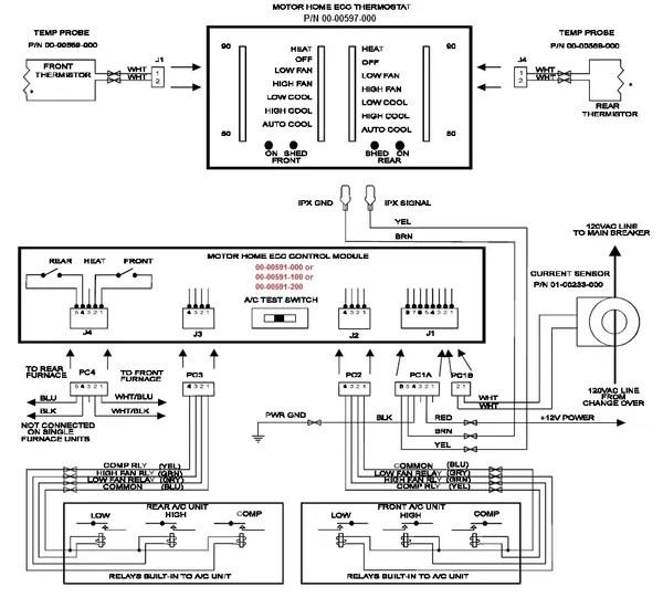 Intellitec Dual Thermostat A/C & Heat, Dual Furnace Model