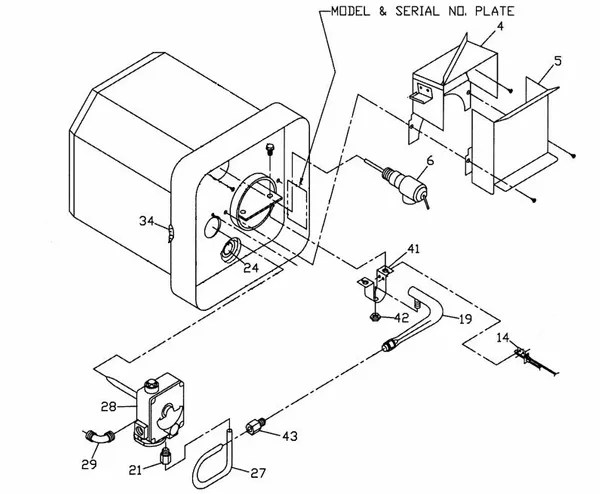 Water Heater Burner Assembly Parts