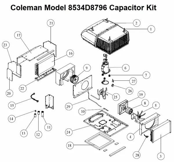 Heat Pump Capacitor