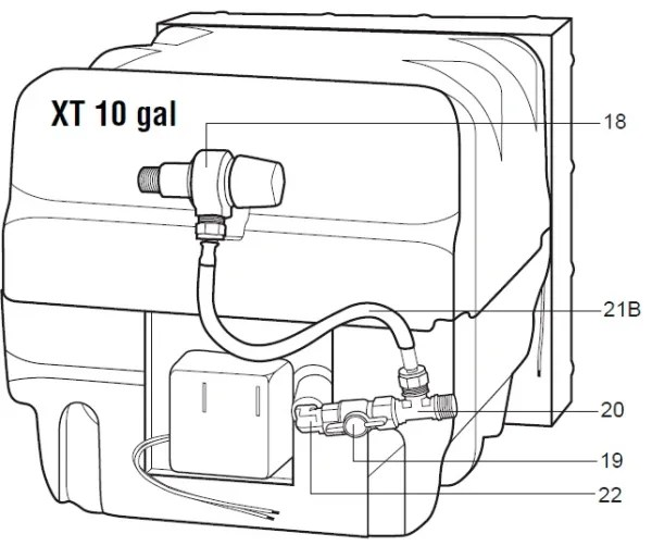 Atwood Water Heater Model G16-EXT Rebuild Kits