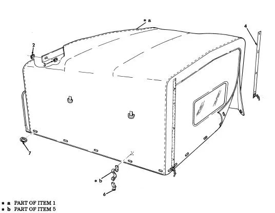 M998 WHITE TROOP AREA FITTED COVER 12340761-3, 2540-01-450