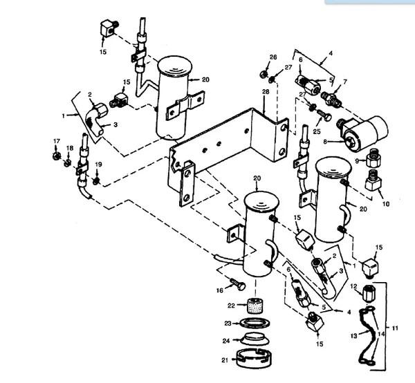 MEP-002A ELECTRIC 24 VOLT FUEL PUMP 72-5313, 2910-01-095