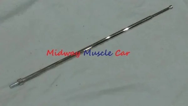 fender mount antenna mast with grooved tip 67 68 69