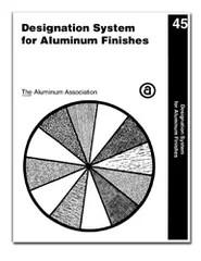 Aluminum Association: Aluminum Finishes, Coatings, in