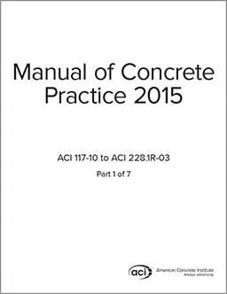 ACI concrete: concrete information, concrete manual
