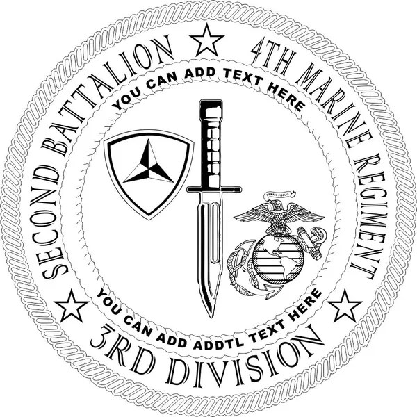 Marines Second (2nd) Battalion Fourth (4th) Marines