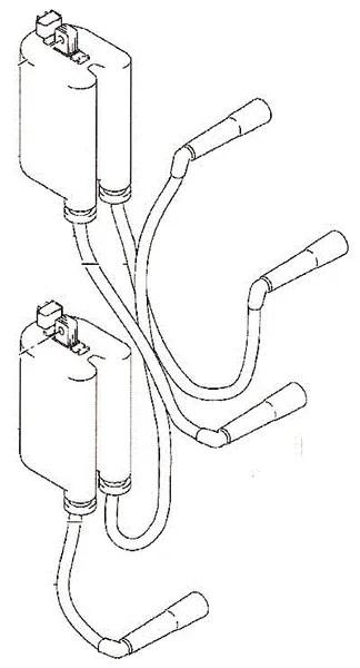 Suzuki Outboard Parts, Ignition Coil Assy. (33410-99E00