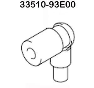 Suzuki Outboard Parts, Spark Plug Cap (33510-93E00