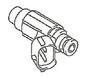 Suzuki Outboard Fuel Injector Assembly (15710-93J00