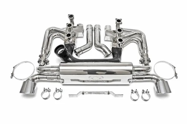 Exhaust-964 Carrera RSR Header Muffler Kit with Optional