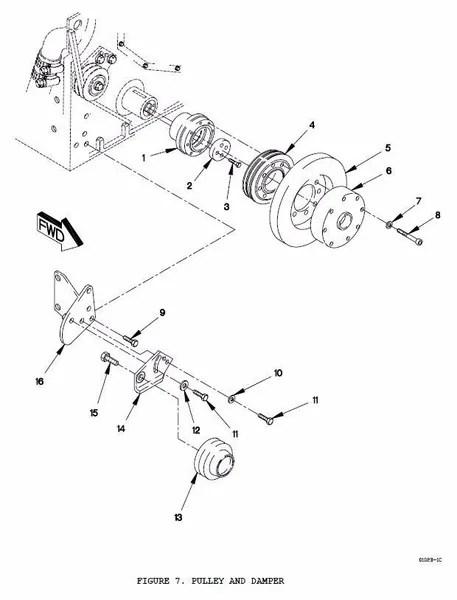 M1078 BELT TENSION ADJUSTING ARM 12414377, 2920-01-363
