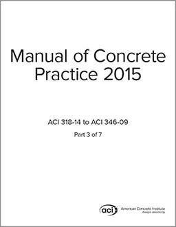 ACI standards, Manual of Concrete Practice, ACI-MCP