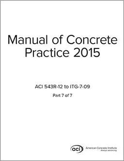 ACI Standards, Manual of Concrete Practice, ACI-MCP-7