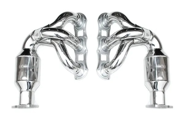 Exhaust-991 Carrera Sport Headers with 200-cell HJS Sport
