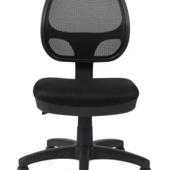 Task Chair Without Arms Steel Wheelchair Ramp Global Otg Totg11642b Mesh Tilter No American