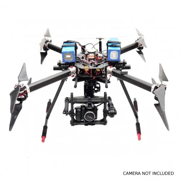 GRYPHON DYNAMICS GF-X8 HEAVY LIFTER DRONE CAMERA NOT