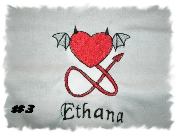 devil heart 3 personalized