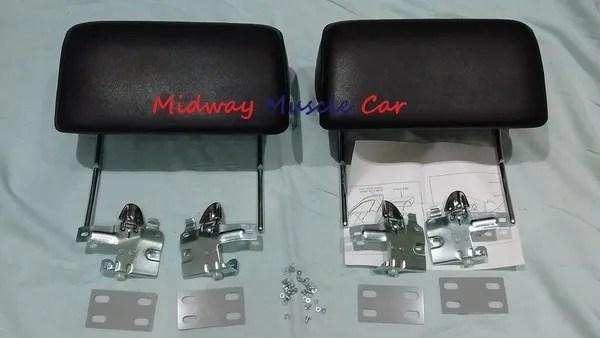 66 Chevelle Wiring Diagram Black Headrest Kit 66 67 Chevy Pontiac Gto Chevelle