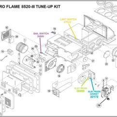 Hydro Flame Furnace Wiring Diagram Temperature Controller Atwood Model 8520 Iii Parts Pdxrvwholesale