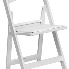Chair Rentals Phoenix Activity For Baby White Padded Resin Rental Table And Weddings Events Peoria Arizona