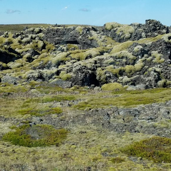 Iceland Lava Field Views
