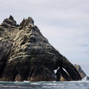 Little Skellig Rock Formation