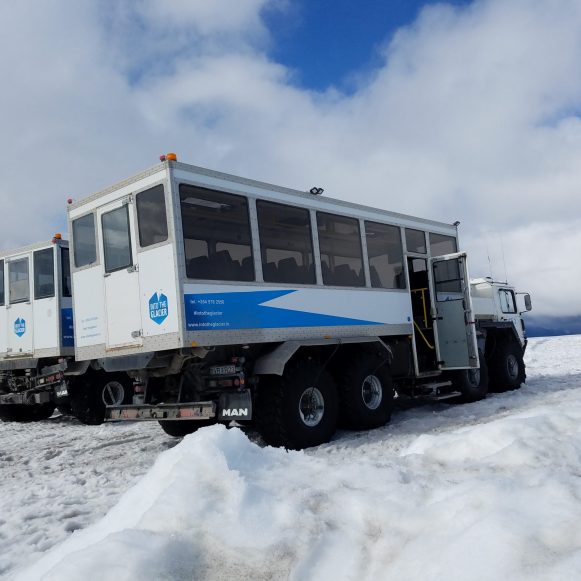 Modified Ice Explorer vehicle