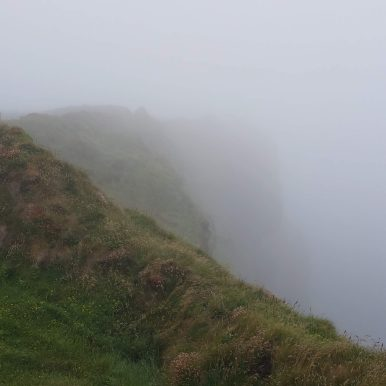 Bromore Sea Cliffs in the Fog