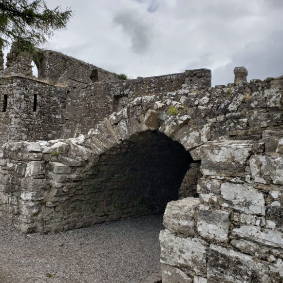 Entrance at Bective Abbey
