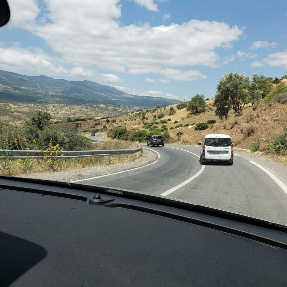 Road to Chefchaouen